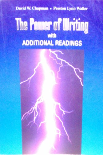 9781559344784: Power of Writing: With Additional Readings