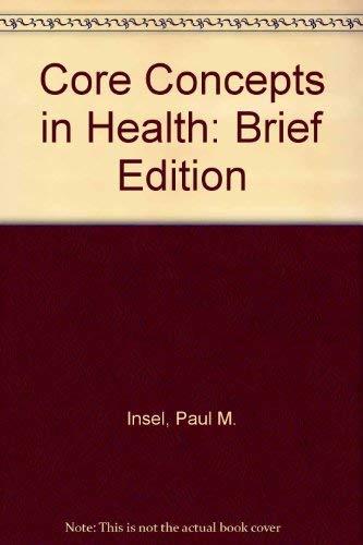 9781559345408: Core Concepts in Health