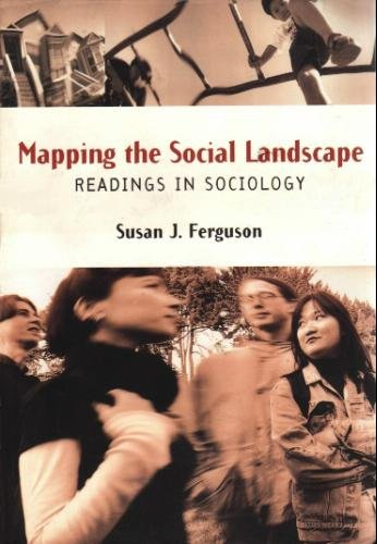 9781559345514: Mapping the Social Landscape: Readings in Sociology