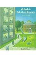 9781559346597: Methods in Behavioral Research