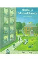 9781559346597: Methods in Behavioral Research