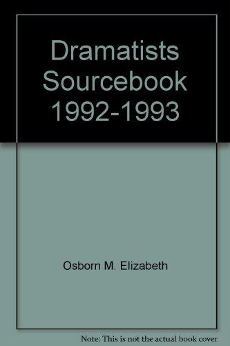 Dramatists Sourcebook 1992-93: Osborn, M. Elizabeth