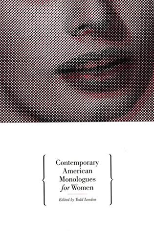 9781559361330: Contemporary American Monologues for Women