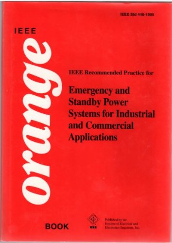 IEEE Std 446-1995, IEEE Recommended Practice for