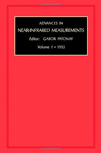 9781559381734: Advances in Near Ir Measurements (Advances in near-infrared measurements) (v. 1)