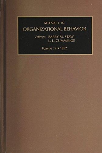 9781559382427: Research in Organizational Behavior, Volume 14