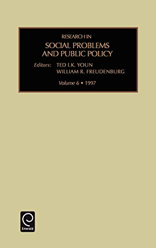 Research in Social Problems and Public Policy (Hardback)