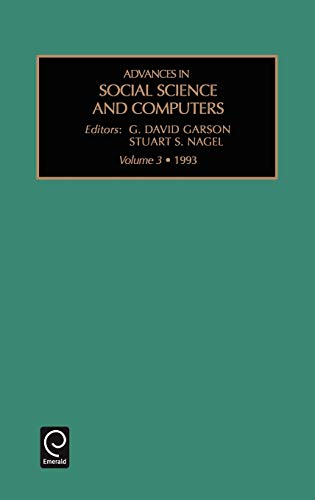 Advances in social science and computers, Volume 3 (Advances in Social Science & Computers): ...
