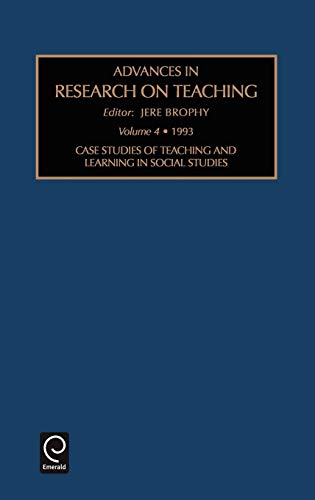 ADV RES TEACH V4 (Advances in Research on Teaching): Brophy