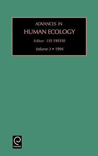 Advances in Human Ecology (Hardback)
