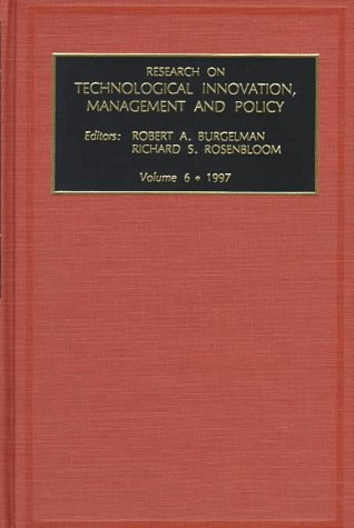Research on Technological Innovation, Management and Policy: v. 6 (Hardback)