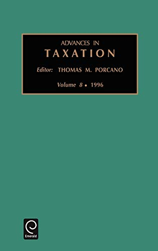 Advances in Taxation (Hardback)