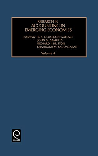 Research in Accounting in Emerging Economies (Hardback)