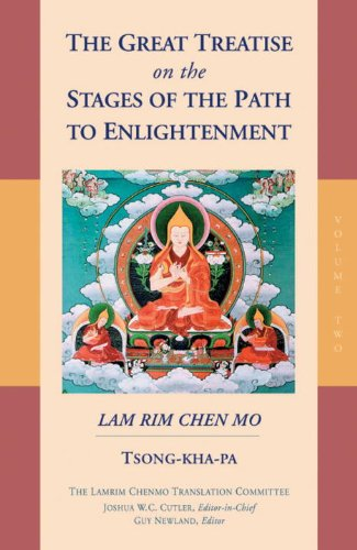 9781559391689: The Great Treatise on the Stages of the Path to Enlightenment (Volume 2)