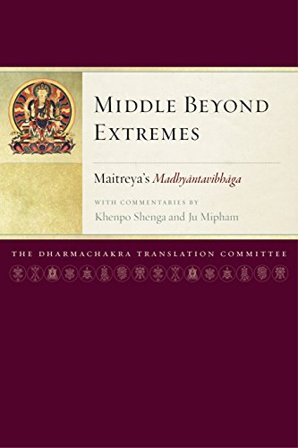 Middle Beyond Extremes: Maitreya's Madhyantavibhaga with Commentaries By Khenpo Shenga And Ju ...