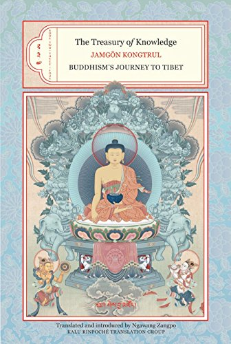 The Treasury of Knowledge: Books Two, Three, and Four: Buddhism's Journey to Tibet (Hardcover)...