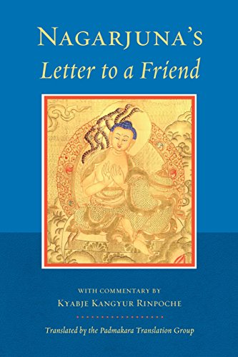 9781559394154: Nagarjuna's Letter to a Friend: With Commentary by Kangyur Rinpoche