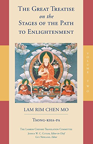 9781559394437: The Great Treatise on the Stages of the Path to Enlightenment (Volume 2) (The Lamrim Chenmo)