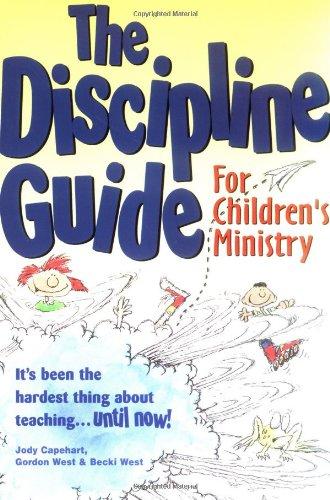 9781559456869: The Discipline Guide for Children's Ministry