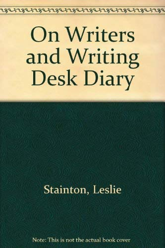 On Writers and Writing Desk Diary: Hunt, Mary