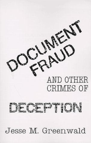 9781559501552: Document Fraud and Other Crimes of Deception