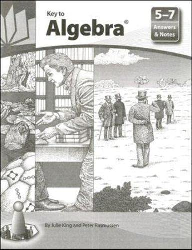 9781559530149: Key to Algebra: Answers and Notes, Books 5-7