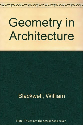 9781559530187: Geometry in Architecture