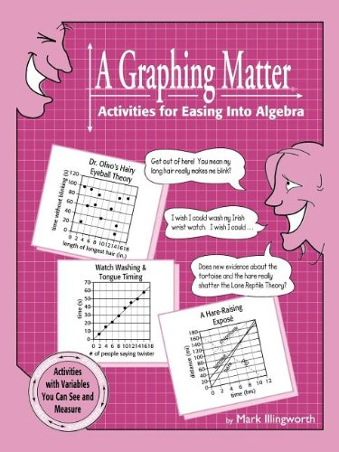 A Graphing Matter: Activities for Easing Into: Illingworth, Mark