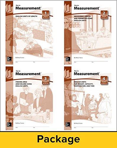 Key to Measurement: English Units of Length Books 1 - 4: Franco, Betsy
