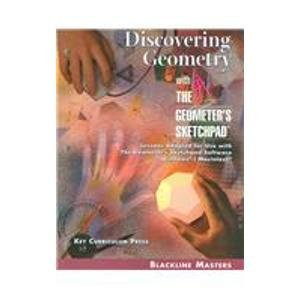 Discovering Geometry: With the Geometer's Sketchpad: Rasmussen, Steven