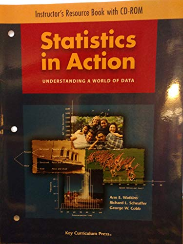Statistics in Action: Understanding a World of: Richard L. Scheaffer,
