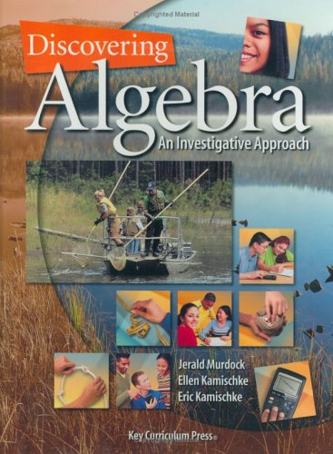Discovering Algebra: An Investigative Approach (Discovering Mathematics): Murdock, Jerald; ...