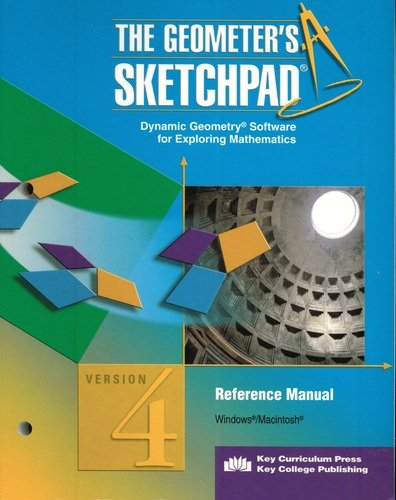 9781559535311: Reference Manual: The Geometer's Sketchpad Version 4