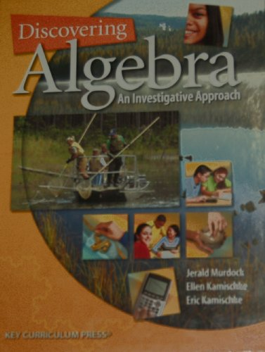 9781559537636: Discovering Algebra: An Investigative Approach