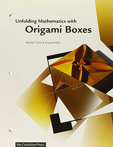 9781559538398: Unfolding Mathematics with Origami Boxes