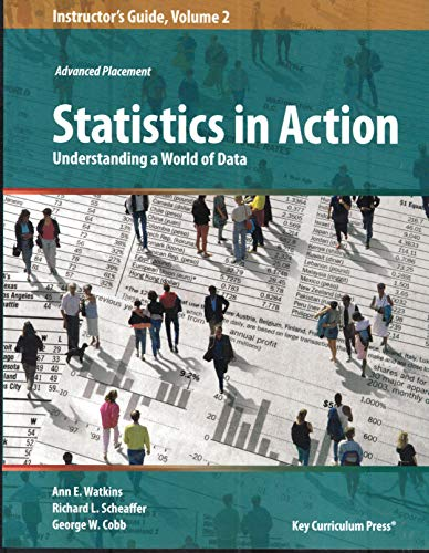 9781559539111: Instructors Guide For Statistics In Action Vol 2 (P) (TM)
