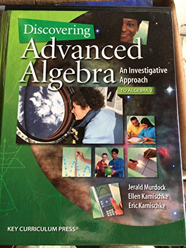 Discovering Advanced Algebra: An Investigative Approach, 2nd