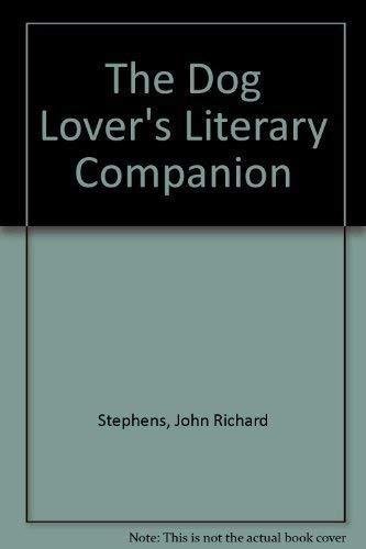 9781559582186: The Dog Lover's Literary Companion