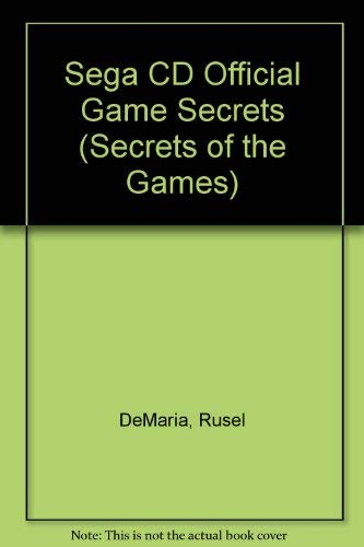 9781559583770: Sega CD Official Game Secrets (Secrets of the Games)