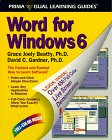 9781559583954: Word for Windows 6: The Visual Learning Guide (Prima Visual Learning Guides)
