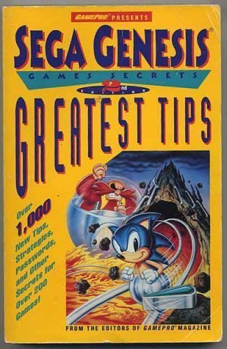 Sega Genesis Games Secrets Greatest Tips, 2nd Edition (Secrets of the Games): McDermott, Leeanne