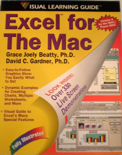 9781559584609: Excel 5 for the Mac: The Visual Learning Guide