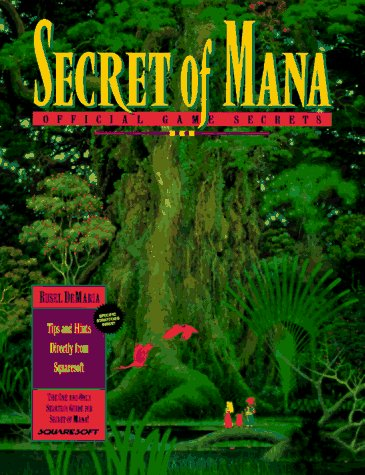9781559584654: Secrets of Mana: Official Game Secrets (Secrets of the games series)