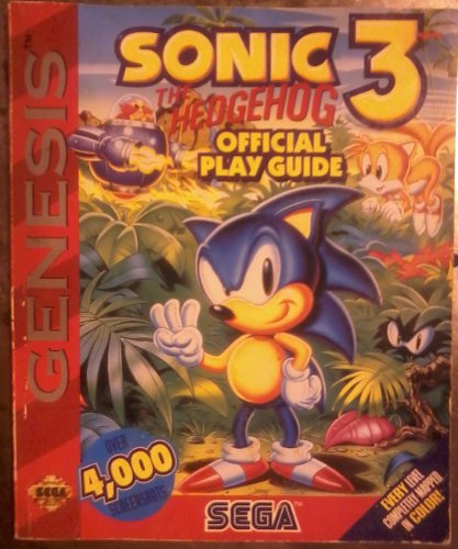 9781559585361: Sonic 3 Official Play Guide (Secrets of the Games) (v. 3)
