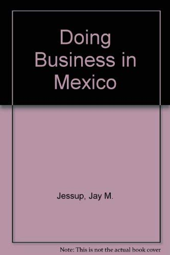 9781559585705: Doing Business in Mexico