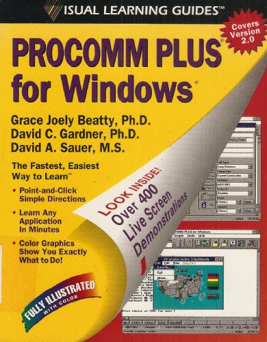 9781559587402: Procomm Plus for Windows: The Visual Learning Guide