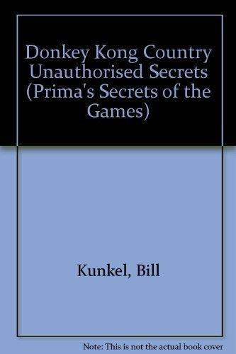 Donkey Kong Country Game Secrets : The: Joe Hutsko