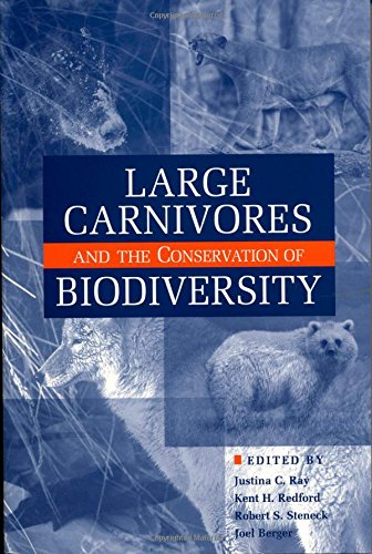 9781559630801: Large Carnivores and the Conservation of Biodiversity