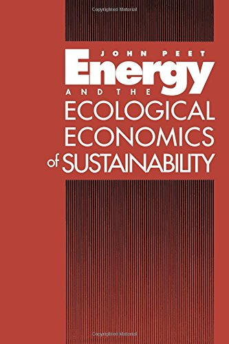 9781559631600: Energy and the Ecological Economics of Sustainability