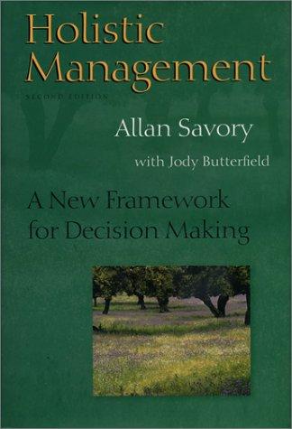9781559634878: Holistic Management: A New Framework for Decision Making